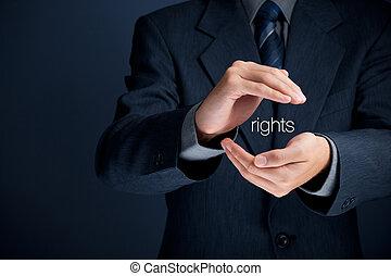 oltalom, emberi jogok