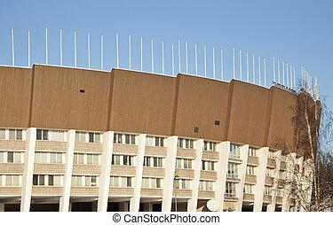 Olymic Stadium in Helsinki, Finland.