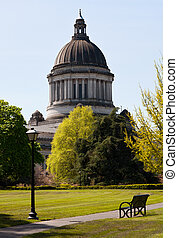Olympia Capitol in Washington state - Olympia Capitol...