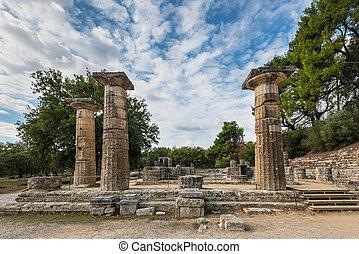 olympia, hera, chrám