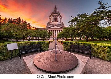 Olympia, Washington, USA state Capitol Building