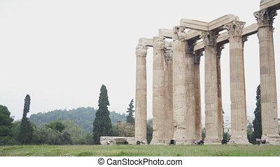 olympian, athènes, zeus, greece., temple