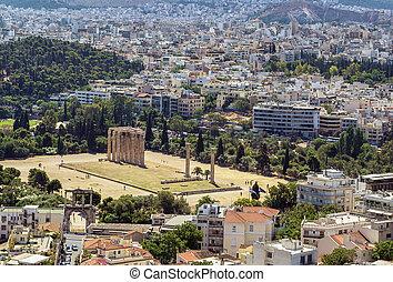 olympian zeus, temple, athènes