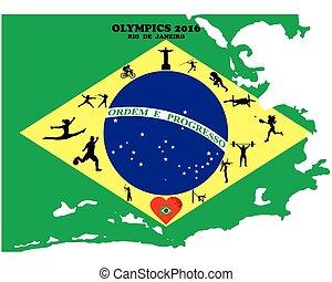 olympique, été, jeux