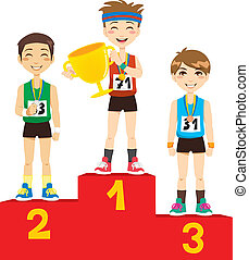 olympique, vainqueurs
