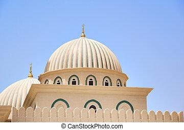 omán, mezquita, cúpula