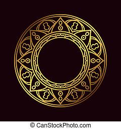 Om or Aum Indian sacred sound, original mantra, a word of...