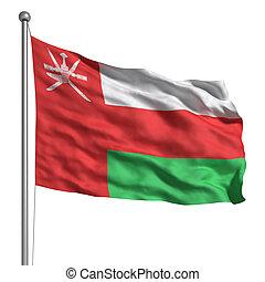 Oman, drapeau
