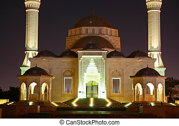 Oman, Mosque in Muscat