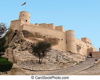 oman,  nakhal, 城砦