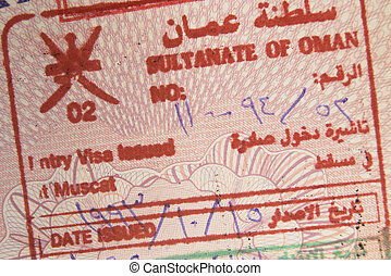 Visa for the Sultanate of Oman