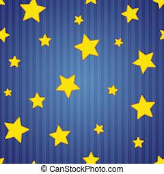 ombragé, raies, étoiles, &