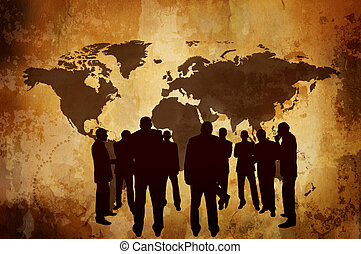 ombre, concept, ou, business, économie