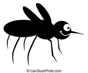 ombre, moustique