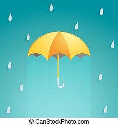 ombrello, cartone animato