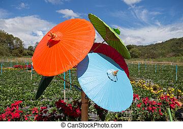 ombrello, fatto mano
