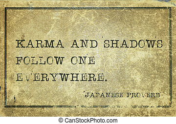 ombres, jp, karma