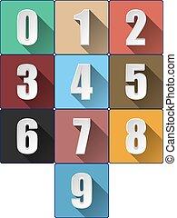 ombres, nombres, long, 3d