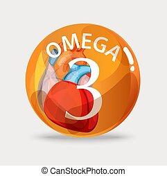 Omega 3. Normalization of cardiac activity. Basics of a...