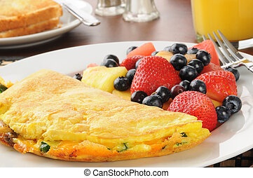 Omelet cloesup