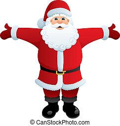 omhelzing, kerstman