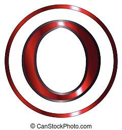 Omicron Greek Letter