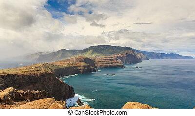 Ominous clouds timelapse Madeira - Beautiful 4K UHD ...