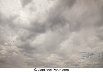 Ominous Cloudy Sky Background