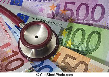 omkostninger, i, medicin