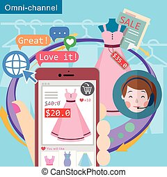 omni-channel shopping experience