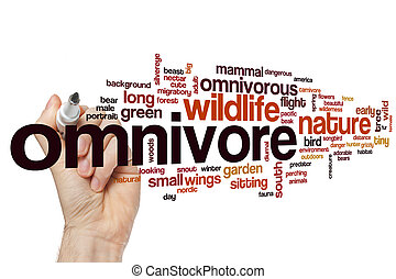 omnivore, 単語, 雲
