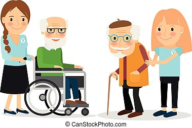 omsorgen, seniors