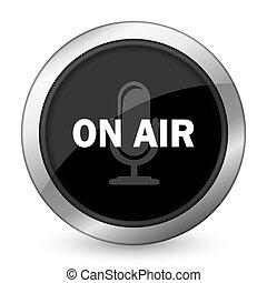 on air black icon