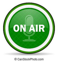 on air green icon