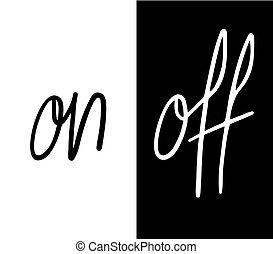 on and off symbols