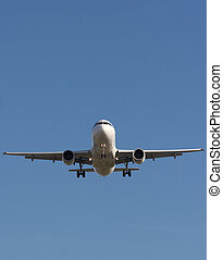 On Final Approach - jet coming in for a landing