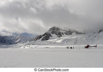 On Franz Joseph Glacier