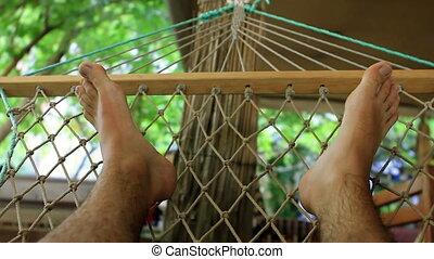 On hammock