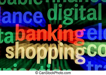 On line banking