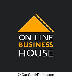 on line business house figure