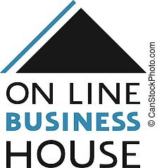 on line business house symbol