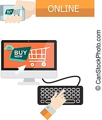 On-line purchase
