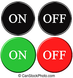 On Off Buttons