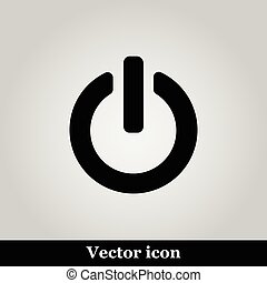 On Off switch web icon