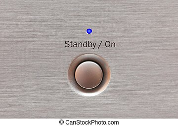 On or standby button