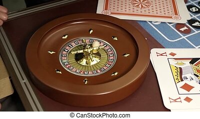 On roulette the winning sector falls, the number 11