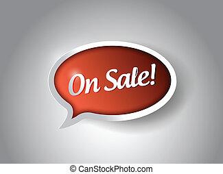 on sale bubble message communication.