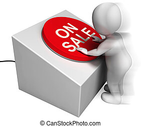 On Sale Pressed Shows Discounts And Special Offer - On Sale ...