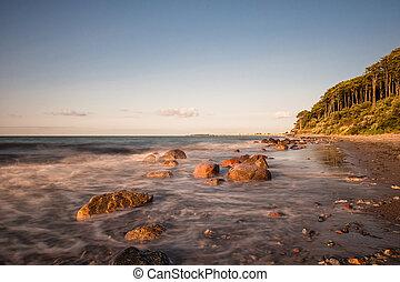 Baltic Sea - On shore of the Baltic Sea.