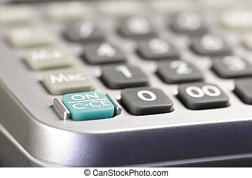 ON switch of a desk-top calculator 01
